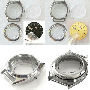 36mm Upgrade Metal Steel Watch Case Cover Kits Repair Parts for 8200 Movement