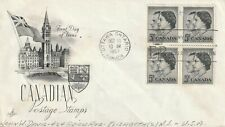 1957 Canada FDC cover Royal Visit