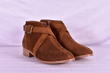 Women's Journee Collection Reggi Ankle Boots, Camel Brown, 7.5