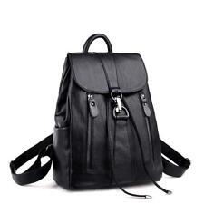 Fashion Backpack Womens Satchel Travel Rucksack Shoulder Bag Faux Leather