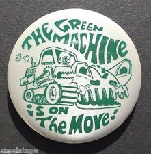 MARSHALL UNIVERSITY THE GREEN MACHINE is On The MOVE Thundering Herd Pin Button