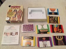 Mummy Rummy Card Game~ Ages 8-Adult ~ 2-5 Players ~Complete~Educational~Learning