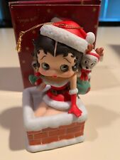 Rare 1998 Betty Boop San Francisco Music Box & Gift Co. Jingle Bells Musical Or