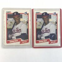 Lot Of 2 Cards 1990 Fleer Sammy Sosa rookie #548 Ungraded Baseball Card