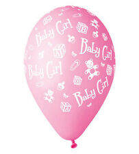 New Born Baby Girl Pink Latex Balloons Pack of 10. PREMIUM QUALITY