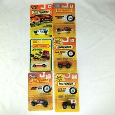 Lot of 6 Vintage Matchbox Cars Vehicles