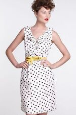 NWT Anthropologie By Karen Walker Polka-Dotted Dress Sz 6 fit 2-4