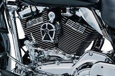 2107-0175 Harley Hupen Horn Cover Mach2  für 91-17 Twin Cam XL Motoren