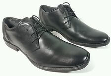 Roamers mens black leather formal shoes uk 8 eu 42