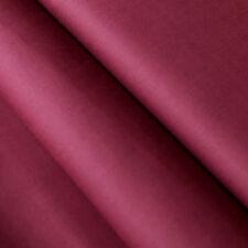 Baumwollstoff UNI Farbe Bordeaux 100% Baumwolle einfarbig
