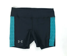 New Under Armour Compression Training Short Women's Small Black 1292577