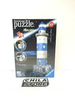 RAVENSBURGER 3D PUZZLE NIGHT EDITION. LIGHTOUSE. 216 PIECE.  Open Box