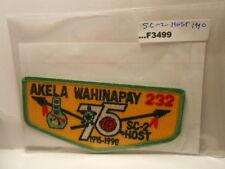 AKELA WAHINAPAY SC-2 HOST 1990 75TH ANNIV O.A. F3499