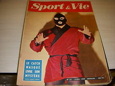 SPORT & VIE 35 04.1959 CATCH RUGBY 5 NATIONS FRANCE ANGLETERRE GALLES IRLANDE
