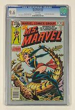 "MS MARVEL #20 Marvel Comics 1978 CGC 9.6 "" Ms. Marvel Dons New Costume """