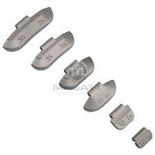 5-30g Schlaggewichte Wuchtgewichte Stahlfelgen Zinkgewichte je 100 Stück
