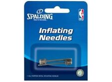 Spalding Basketball Accessories 8312S 2 Pack of Sports Pump Inflater Needles