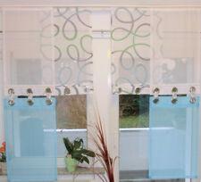 UNIKAT moderne Flächen Gardinen EINZELSTÜCK Vorhang 6 Teile mit Ösen Fenster