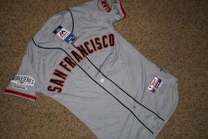 Majestic On Field Road Jersey 40 San Francisco Giants 2014 World Series w Tags