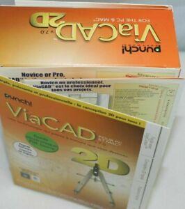 Encore PUNCH! VIACAD 2D 7 - Full Version for Windows, Mac *NEW,SEALED*