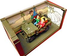 Rarität:  GATE 01063 Laurel 6 Hardy Ride On The Willy Jeep 1/18, OVP (mb)