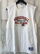 Vintage Champion Basketball Hall Of Fame Springfield Mass Sleeveless T Shirt Lg