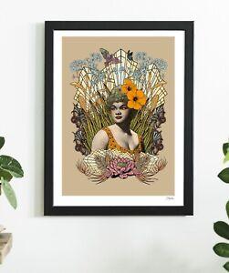 Etta James Singer Black Queen Soul Sister Hip Hop Art  Print By Msdre