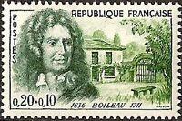"FRANCE N°1259 ""BOILEAU A AUTEUIL"" NEUF xx TTB"