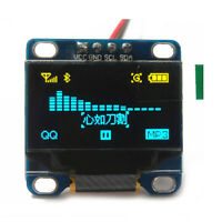 "0.96"" I2C IIC Serial 128X64 OLED LCD Display Module for Arduino Yellow& Blue"