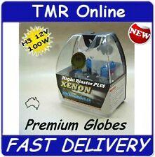 2 x 12V H3 Globes Bulb 100W - Suit Narva 175 Ultima ARB IPF 800 900 Spot Lights