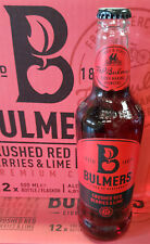 Bulmers Red Berries Cider 4% 12x0,5l - Glasflasche