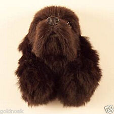 (1) BROWN COCKER SPANIEL DOG MAGNET! Very realistic collectible fur Magnets.
