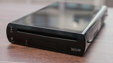 Wii U console with games