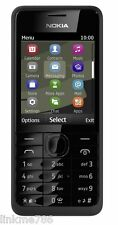NEW-NOKIA-301-BLACK-UNLOCK-3G-MOBILE--SIM-FREE-BLUETOOTH UK SELLER TOP SELLING