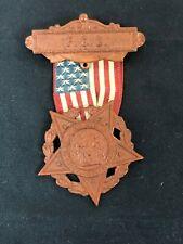Antique Civil War LADIES Grand Army Republic 1866 Badge Medal- Make offer!