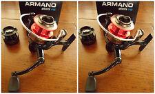 Lot de 2 moulinets pêche leurre Sert Armano 2003 FD