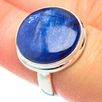 Kyanite 925 Sterling Silver Ring Size 7.25 Ana Co Jewelry R52212F