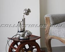 Vintage Rotary Dial Candlestick Phone Retro Look Antique Home Desk Landline Gift