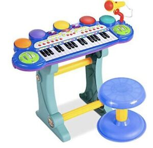 Best Choice Products Kids Electronic Musical Instrument Piano Learning Toy Piano