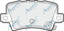 HONDA CIVIC VIII 1.4 1.8 2.2 2005 in poi-APEC pastiglie dei freni a disco posteriore Set Completo