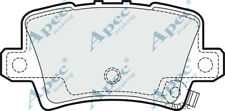 Honda Civic VIII 1.4 1.8 2.2 2005-Onwards Apec Rear Disc Brake Pads Full Set