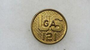 ORIGINAL TYPE II GILT EM COLLAR DISK-US/GA/121
