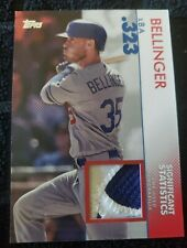 2020 Topps Series 2 Cody Bellinger Significant Statistics Patch Relic 1/25...