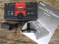 Yamaha DTXplorer Electronic Percussion Module w/ Manual, Mount Plate, Power Adp