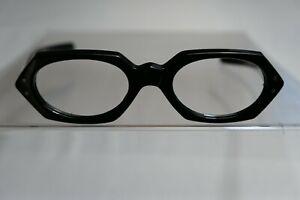 Vintage NEW OLD STOCK 60s Octagon Eyeglasses Frame France A.530 - 42-20-132 Star