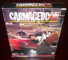 Carmageddon 1997 Original Release Box *RARE* with 1998 High Octane Game (PC)