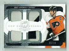 11-12 UD Upper Deck The Cup Foundations  Eric Lindros  /10  Quad Patches  HOF