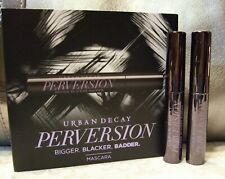 Urban Decay Perversion Mascara Two .1 fl oz Travel Size Tubes AUTHENTIC
