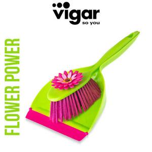 Vigar - Handfegerset Flower Power