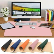 More details for 90*45 cm large leather computer desk mat table keyboard mouse pad laptop cushion